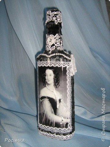 Бутылка интерьерная новогодняя №1 фото 12