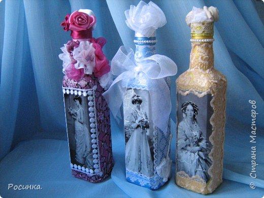 Бутылка интерьерная новогодняя №1 фото 13