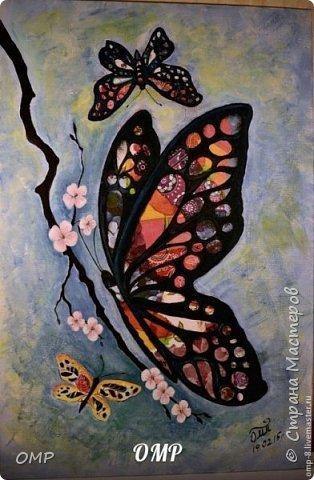"""Бабочки"". Размер: 40х60 см. фото 1"