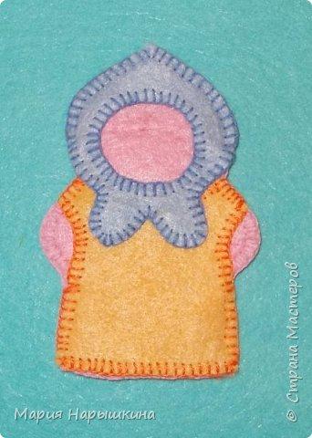 Пальчиковая кукла «Внучка» фото 8