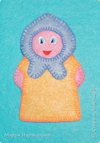 Пальчиковая кукла «Внучка» фото 1