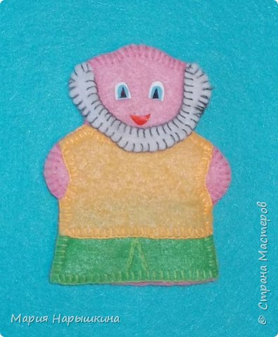 Пальчиковая кукла «Внучка» фото 19