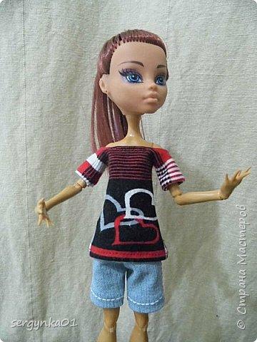 МК футболка для кукол Монстер Хай (Monster High) фото 2