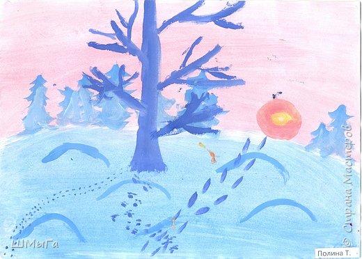 Результат урока рисования во 2 классе. фото 2