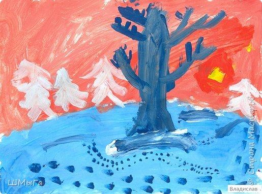 Результат урока рисования во 2 классе. фото 6