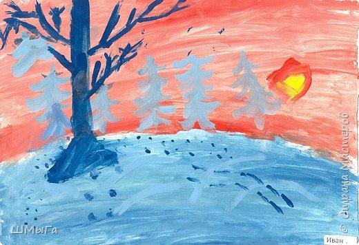 Результат урока рисования во 2 классе. фото 7