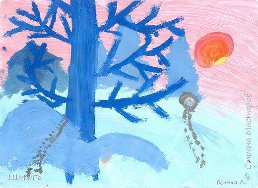 Результат урока рисования во 2 классе. фото 9