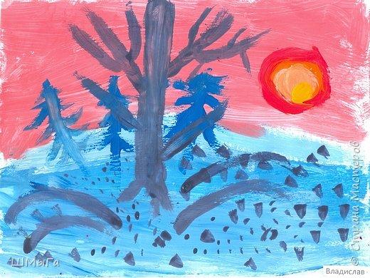 Результат урока рисования во 2 классе. фото 11