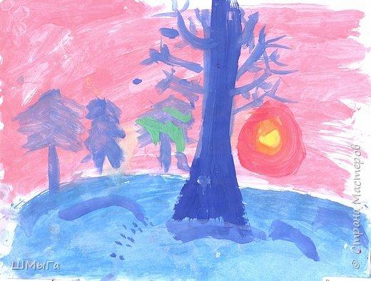 Результат урока рисования во 2 классе. фото 12