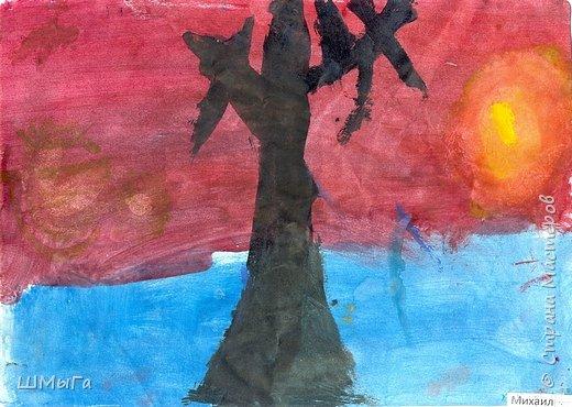 Результат урока рисования во 2 классе. фото 15