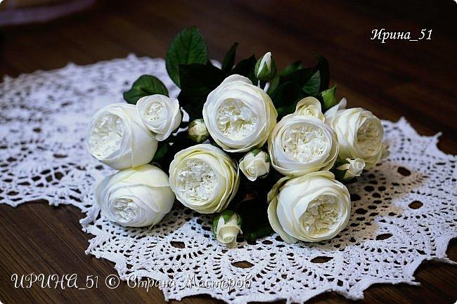 Интерьерная композиция с цветами   из зефирного фома. фото 2
