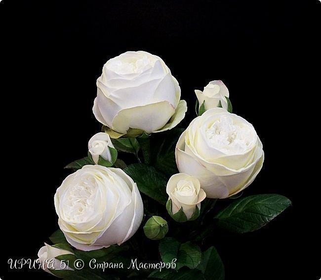 Интерьерная композиция с цветами   из зефирного фома. фото 6