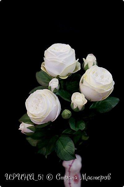 Интерьерная композиция с цветами   из зефирного фома. фото 7