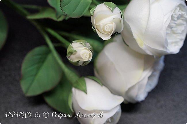 Интерьерная композиция с цветами   из зефирного фома. фото 5