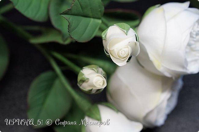 Интерьерная композиция с цветами   из зефирного фома. фото 8