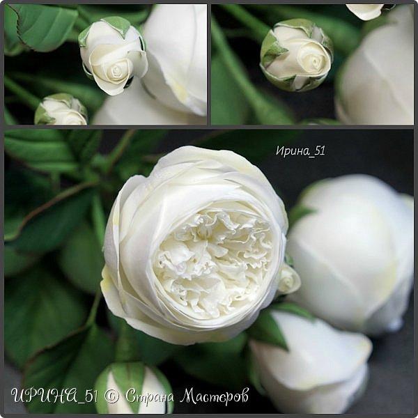 Интерьерная композиция с цветами   из зефирного фома. фото 3