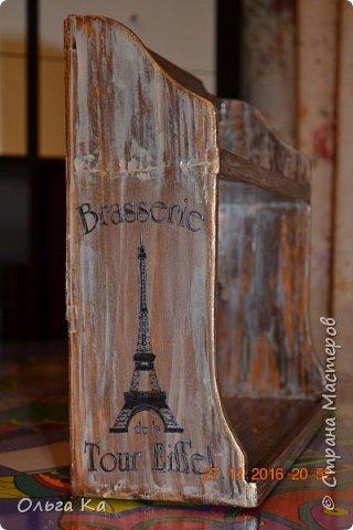 Поездка в Париж не прошла даром. Салфетку стащила, грешна))) фото 1