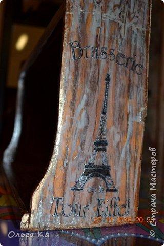 Поездка в Париж не прошла даром. Салфетку стащила, грешна))) фото 4