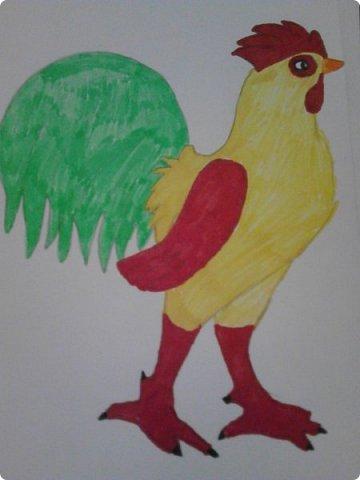 Здравствуй, Страна Мастеров! Как же давно меня тут не было! Сейчас я покажу вам свои новые рисунки.  На уроке ИЗО рисовали необычных существ. Вот мой рисунок. Крылатый Волк. фото 2