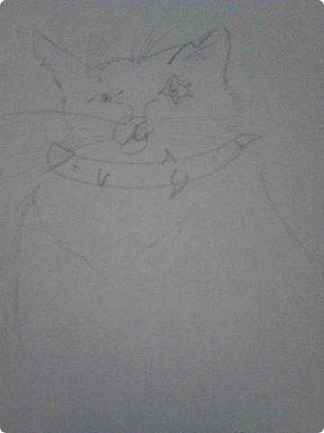 Здравствуй, Страна Мастеров! Как же давно меня тут не было! Сейчас я покажу вам свои новые рисунки.  На уроке ИЗО рисовали необычных существ. Вот мой рисунок. Крылатый Волк. фото 15