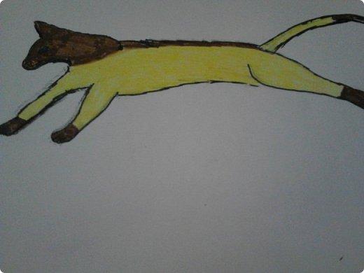 Здравствуй, Страна Мастеров! Как же давно меня тут не было! Сейчас я покажу вам свои новые рисунки.  На уроке ИЗО рисовали необычных существ. Вот мой рисунок. Крылатый Волк. фото 19