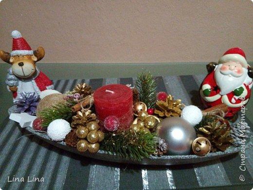 Рождественская композиция фото 1