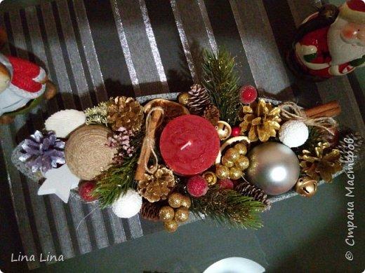 Рождественская композиция фото 2