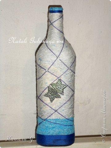 Декор бутылок (разные)-8 фото 4