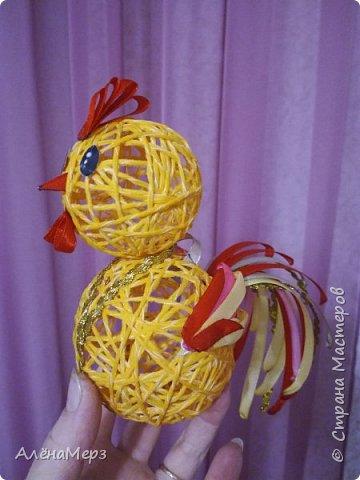 Ёлочная игрушка петушок фото 1