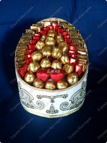 Подарочная коробка с конфетами (нишан  хонча) фото 1