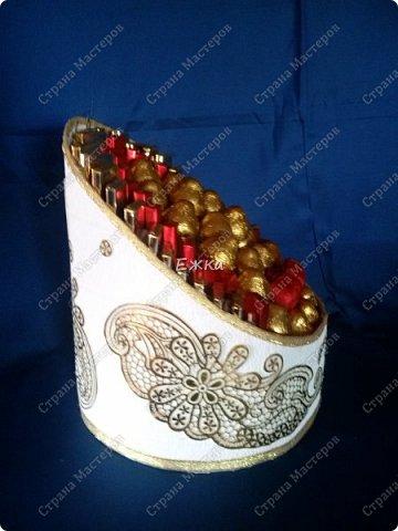 Подарочная коробка с конфетами (нишан  хонча) фото 2
