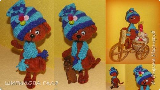 Вязанные игрушки по мк Светланы Перцевой,Веры Терекбаевой и мои. фото 14