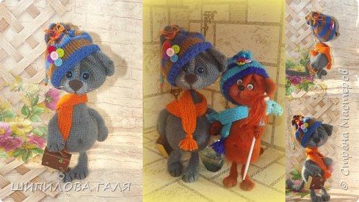 Вязанные игрушки по мк Светланы Перцевой,Веры Терекбаевой и мои. фото 15