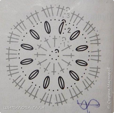 Вязание.Крючок.Схемы фото 7