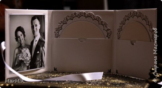 Приветствую жителей Страны !!!! Поздравляю всех мамочек с праздником !!!! Любви и счастья !!!! Сегодня совсем немного работ, но много фотографий )) Первый конверт для дисков, свадебный.... фото 3