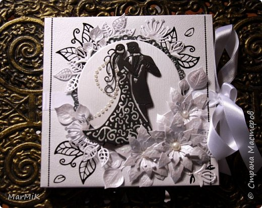 Приветствую жителей Страны !!!! Поздравляю всех мамочек с праздником !!!! Любви и счастья !!!! Сегодня совсем немного работ, но много фотографий )) Первый конверт для дисков, свадебный.... фото 1