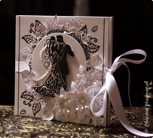 Приветствую жителей Страны !!!! Поздравляю всех мамочек с праздником !!!! Любви и счастья !!!! Сегодня совсем немного работ, но много фотографий )) Первый конверт для дисков, свадебный.... фото 7
