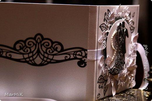 Приветствую жителей Страны !!!! Поздравляю всех мамочек с праздником !!!! Любви и счастья !!!! Сегодня совсем немного работ, но много фотографий )) Первый конверт для дисков, свадебный.... фото 2