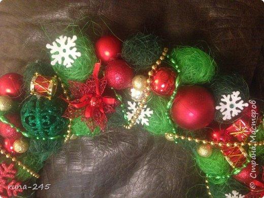 Рождественский венок-2 фото 2