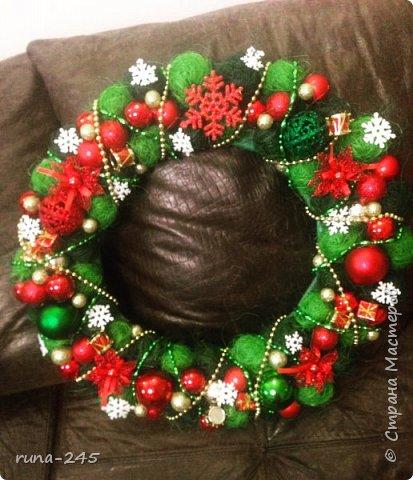 Рождественский венок-2 фото 1