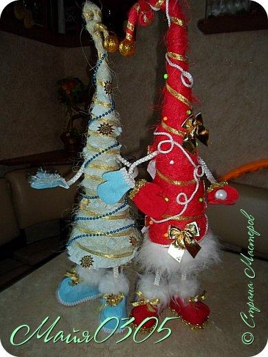 Мои первые елочки и большие игрушки на городскую елку ... фото 1