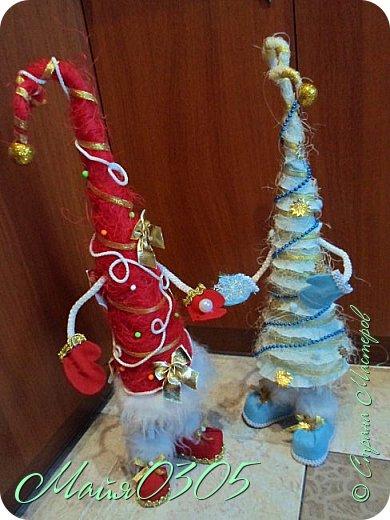 Мои первые елочки и большие игрушки на городскую елку ... фото 2