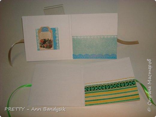 вот такие разные 5 конвертиков у меня получилось! фото 24