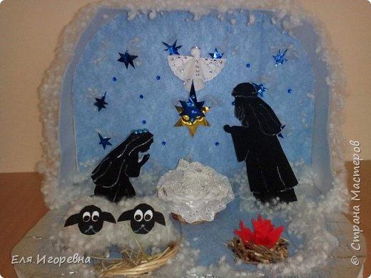 """Макет """" Светлое Рождество Христово"""". Мы на Кубани уже готовимся к этому светлому празднику... Работа выполнена на краевой конкурс. Спешу поделиться ею с вами ... фото 1"""
