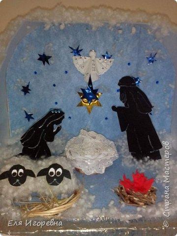 """Макет """" Светлое Рождество Христово"""". Мы на Кубани уже готовимся к этому светлому празднику... Работа выполнена на краевой конкурс. Спешу поделиться ею с вами ... фото 5"""