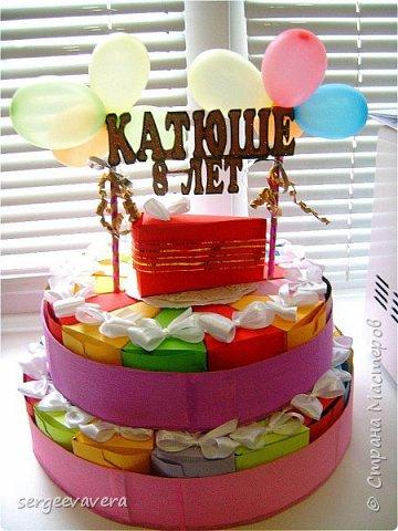 Всем жителям Страны Мастеров, добрый день. Недавно у младшей доченьки был день рождения и как водится в школу нужно было приготовить угощение. Хотелось чего-то необычного, так родился этот тортик на 33 человека фото 1