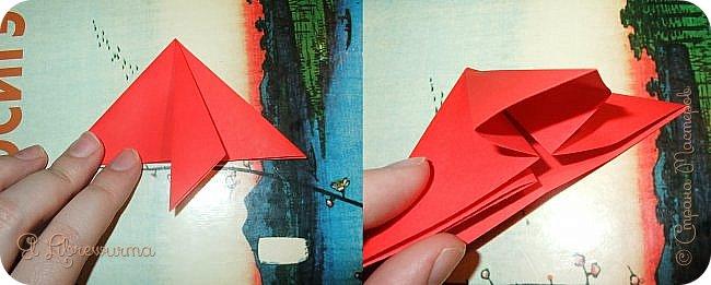 """Я немного пурист от оригами: модель должна быть сложена из квадратного, на худой конец, прямоугольного листа, ножницы и клей — табу. Соответственно, кусудамы клеевой сборки я презирала. Исключение было сделано лишь для этой и ещё одной модели, которые обе на клею, однако у них есть веское оправдание. Модель """"Цветочный шар"""" классическая, аутентичная и древняя настолько, что имя создателя потерялось во тьме веков, как и у другой кусудамы, которая так и называется — """"Классическая"""". Именно мысль, что сами древние японцы не гнушались использовать клей, и примирила меня с его использованием))) фото 7"""