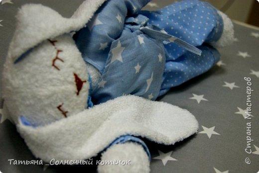 Зайка-сплюшка по выкройке Стёпиной Ольги фото 1