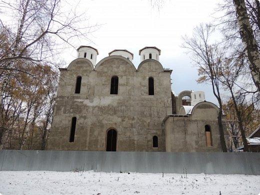 Москва. Церковь Николая Чудотворца в Бирюлёве. фото 1