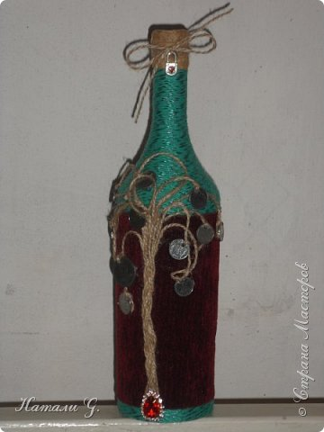 Декор бутылок (разные)-9 фото 1